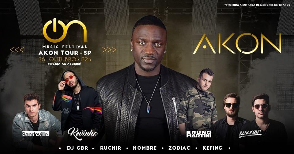 Akon Tour: confira tudo o que vai rolar