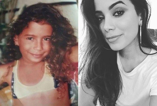 Marilia Mendonça e Anitta: Veja fotos de famosos quando crianças