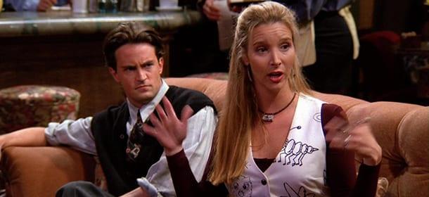 Chandler e Phoebe não deveriam ficar até o final de Friends