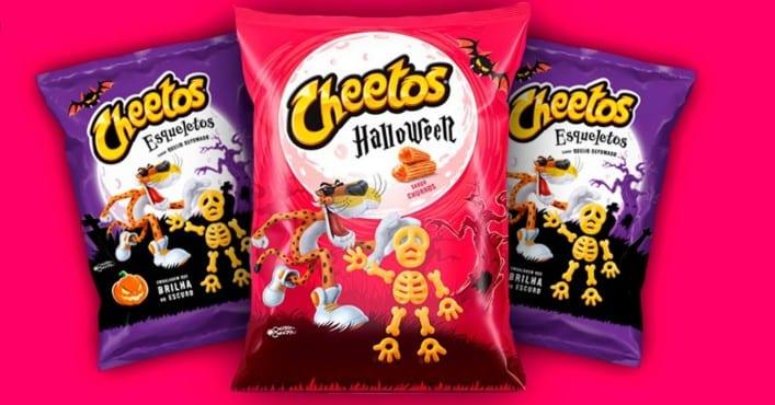 Cheetos Lança o 1º salgadinho doce em campanha de Halloween