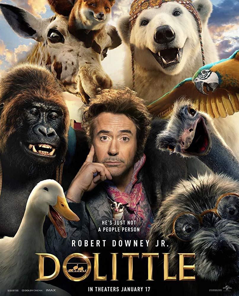 robert downey jr dr dolittle