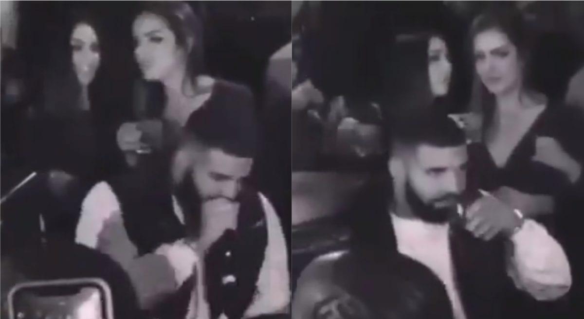 Drake e amiga de Anitta são vistos juntos