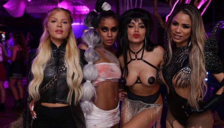 'Ludmilla': As fantasias de famosos no Halloween de Anitta