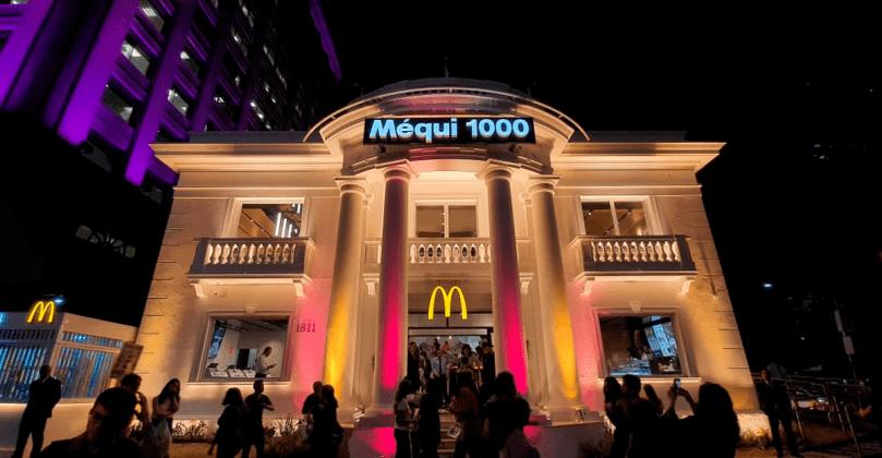 McDonald's inaugura milésima loja em mansão da Paulista