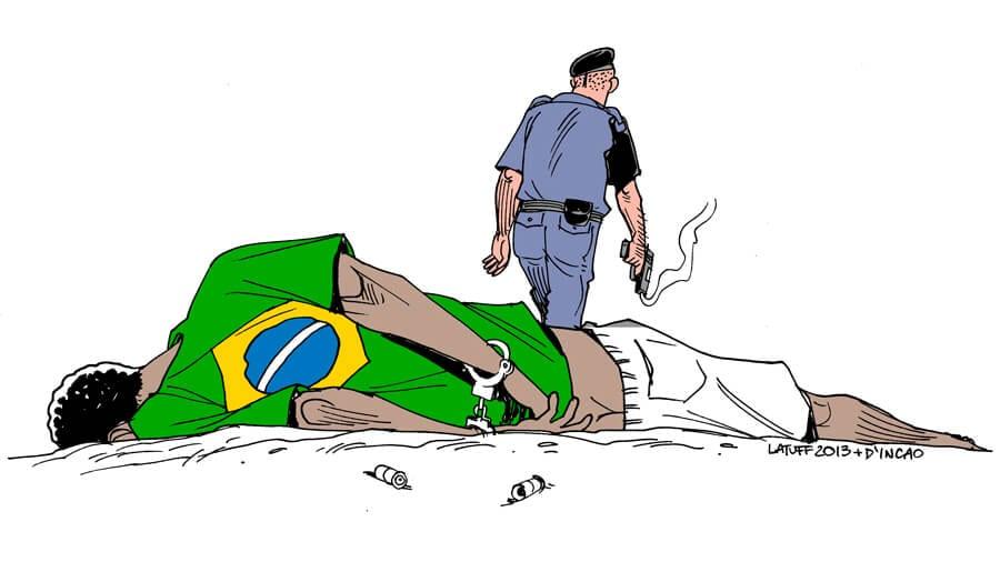 Violência policial aumenta no Brasil: 6160 mortes em 2018