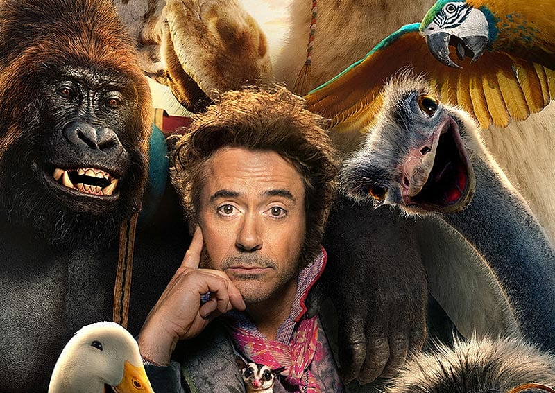 Robert Downey Jr. será Dr. Dolittle no cinema, assista ao trailer