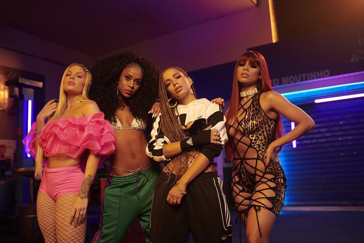 Anitta, Lexa, Luiza Sonza e Mc Rebecca lançam 'Combatchy' em festa LGBTQ+