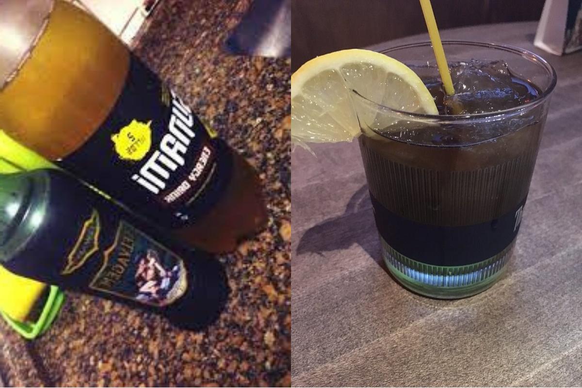 Catuaba com energético é uma opção de drink simples e barato para os jovens.