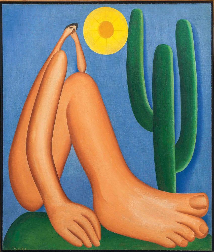 Abaporu é a maior obra de arte do Brasil?