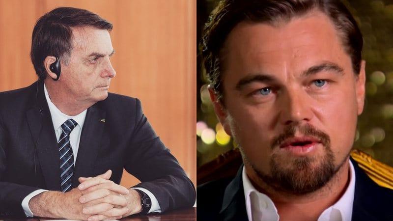 Bolsonaro diz que DiCaprio ajudou a financiar queimadas na Amazônia
