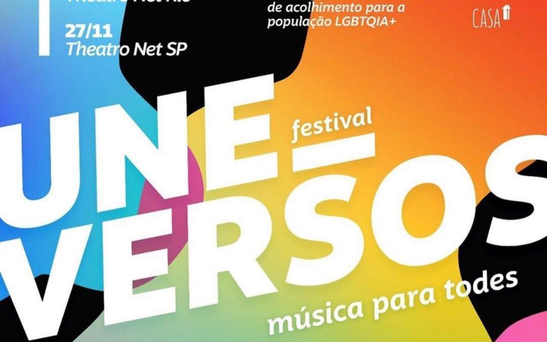 UNEversos é o primeiro festival beneficente LGBTQIA+ do Brasil