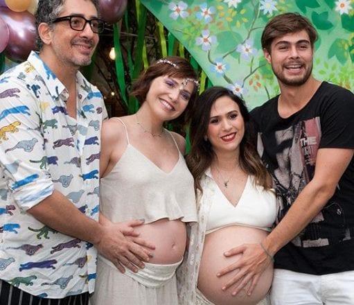 Uri, primeiro filho de Leticia Colin e Michel Melamed nasce hoje