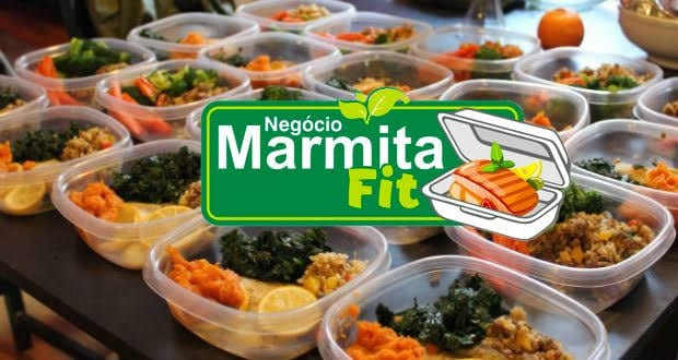 Marmitas Fit = R$7 mil mensal