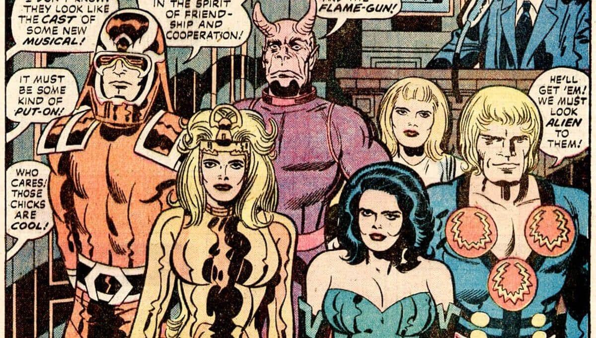"""Os Eternos: """"é um risco que vale a pena correr"""", diz presidente da Marvel"""