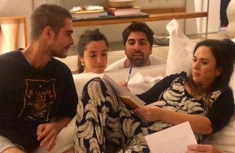 Tatá Werneck e Rafael Vitti casaram no sofá? Confira a história
