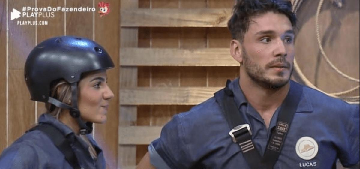 A Fazenda: Por que a roça entre Lucas e Hariany foi cancelada