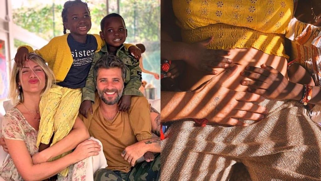 Bebê a bordo: Giovanna Ewbank e Bruno Gagliasso confirmam gravidez