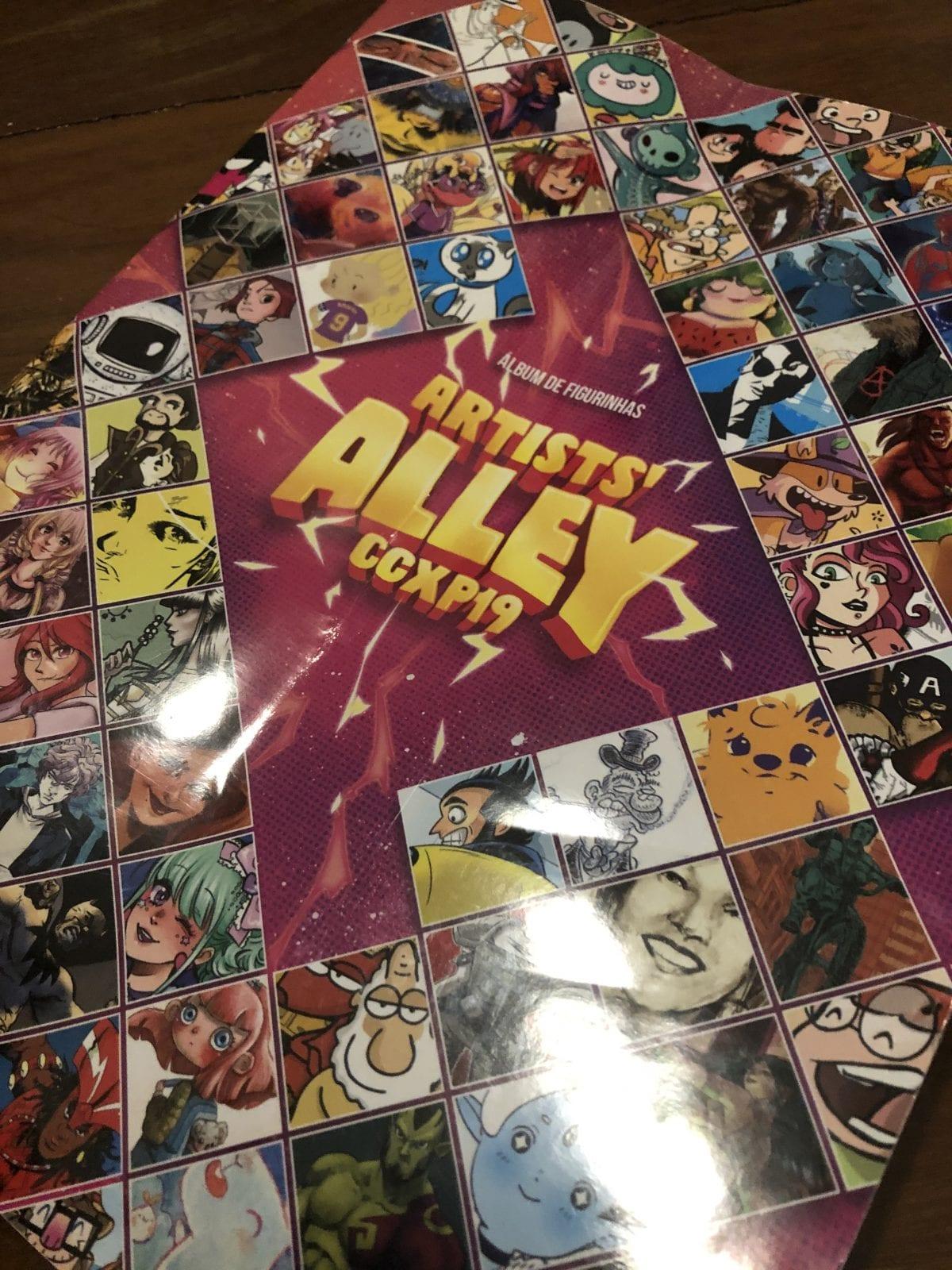 Surpresa da CCXP: Confira o Álbum de Figurinhas do Artists Alley 2019