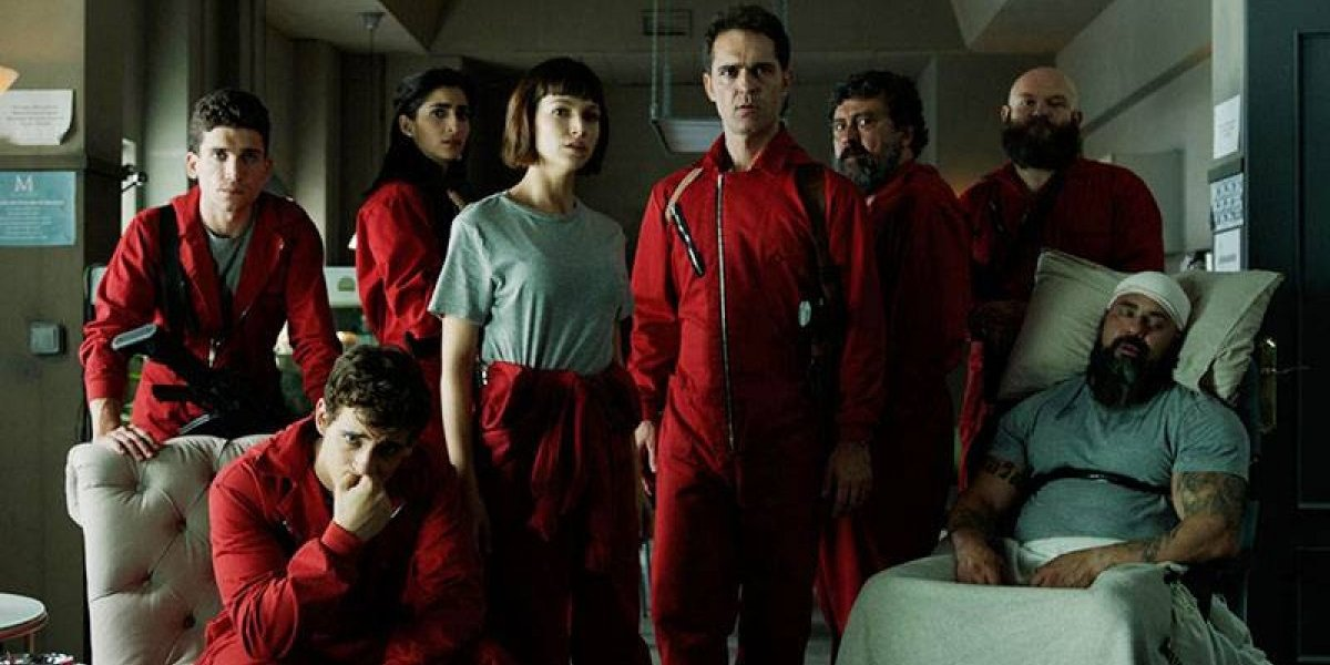 4ª temporada de La Casa de Papel: confira primeiras imagens