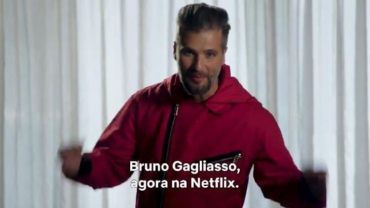 Bruno Gagliasso em La Casa de Papel: ator faz teste e cita 'surubão'