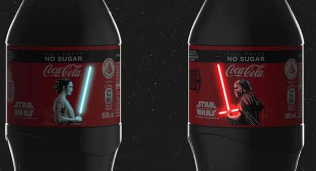 Star Wars: Coca-Cola lança edição especial em homenagem ao novo filme da saga