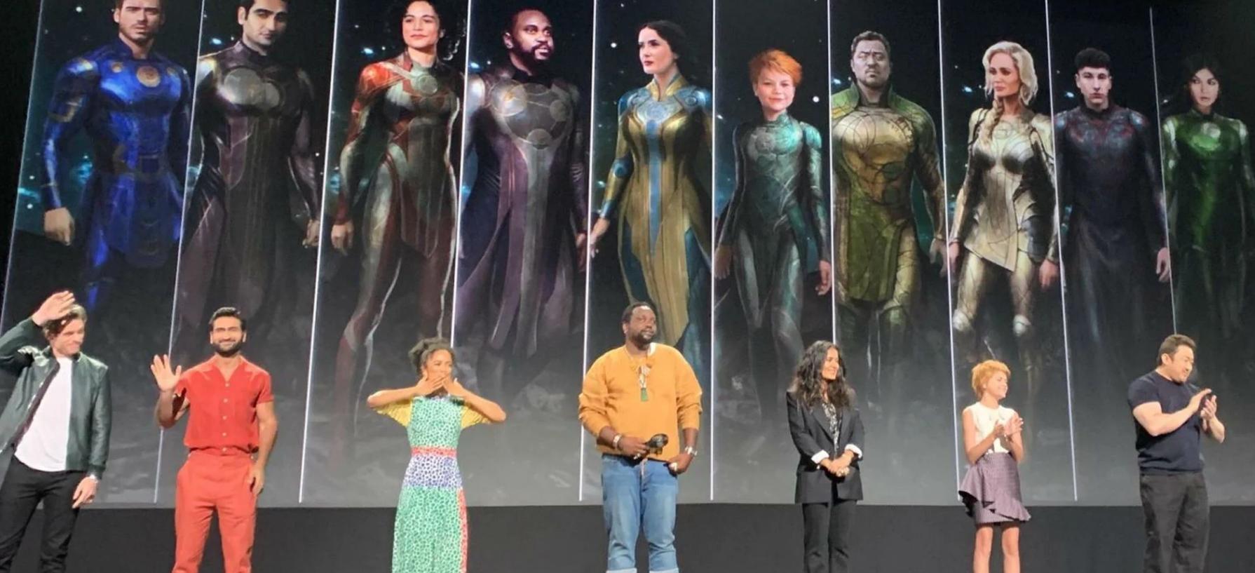 Os Eternos: confira novas fotos das gravações do filme da Marvel