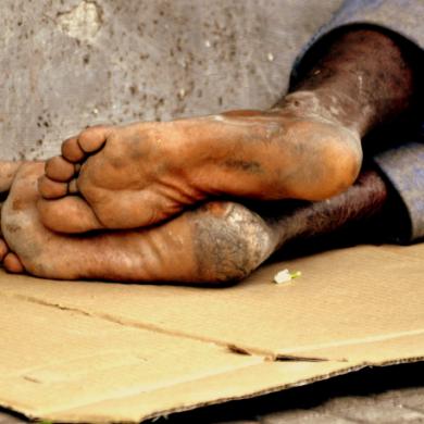 Morador em situação de rua