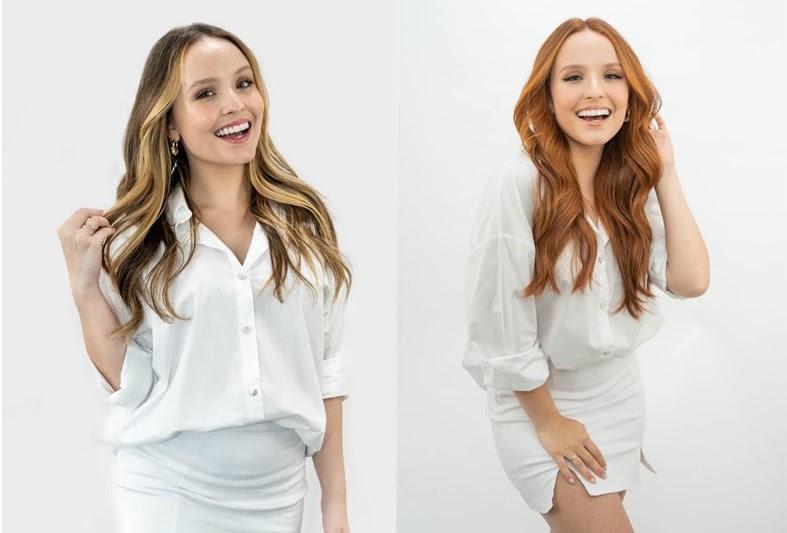 Larissa Manoela está ruiva? Confira fotos do novo cabelo da atriz!