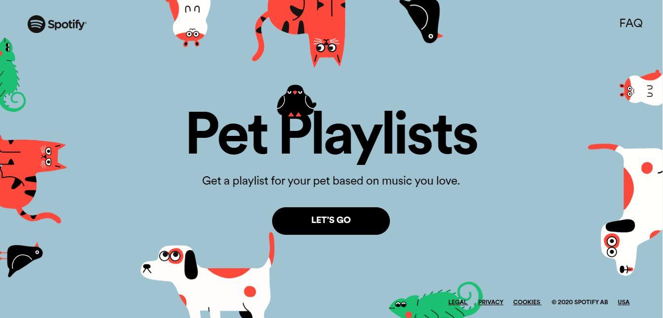 Spotify lança 'Pet Playlist': Músicas que entendem o gosto musical do seu pet
