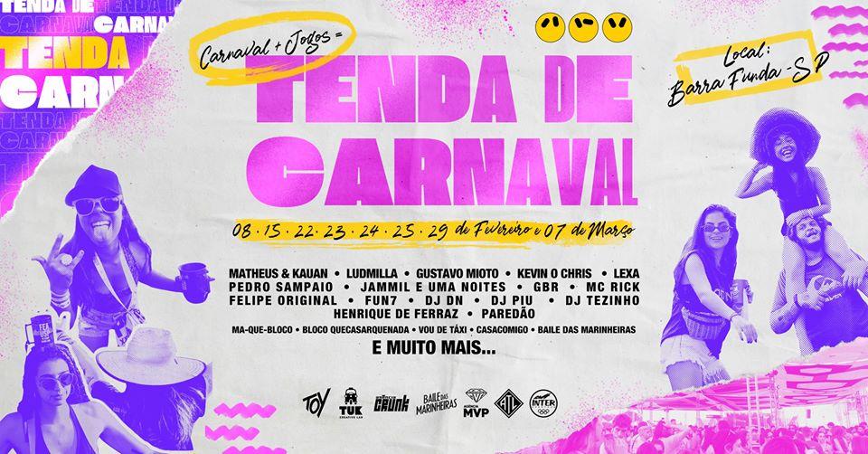 Tenda de Carnaval: Conheça o maior Carnaval Universitário do Brasil