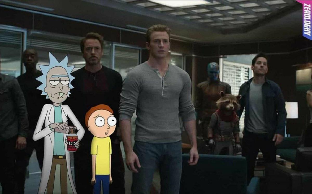 Crossover de Vingadores e Rick And Morty? Montagem viraliza na web