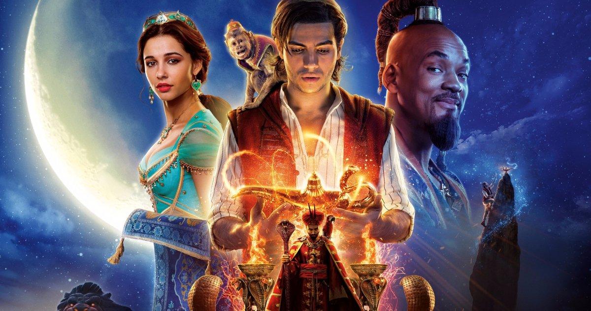 Aladdin 2 terá participação de Will Smith e novo enredo