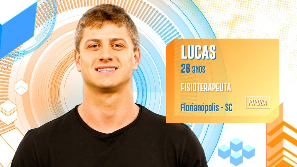 BBB20: Lucas é eliminado com mais da metade dos votos