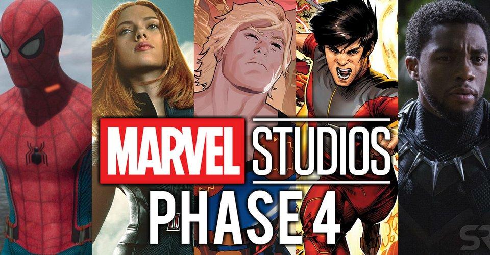 Tudo sobre cada filme da fase 4 da Marvel