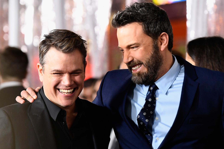 Ben Affleck e Matt Damon estão irreconhecíveis para novo filme, veja