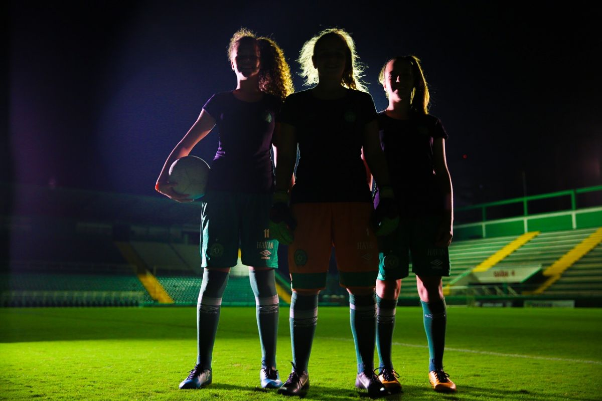 Programa de futebol feminino: A vez delas