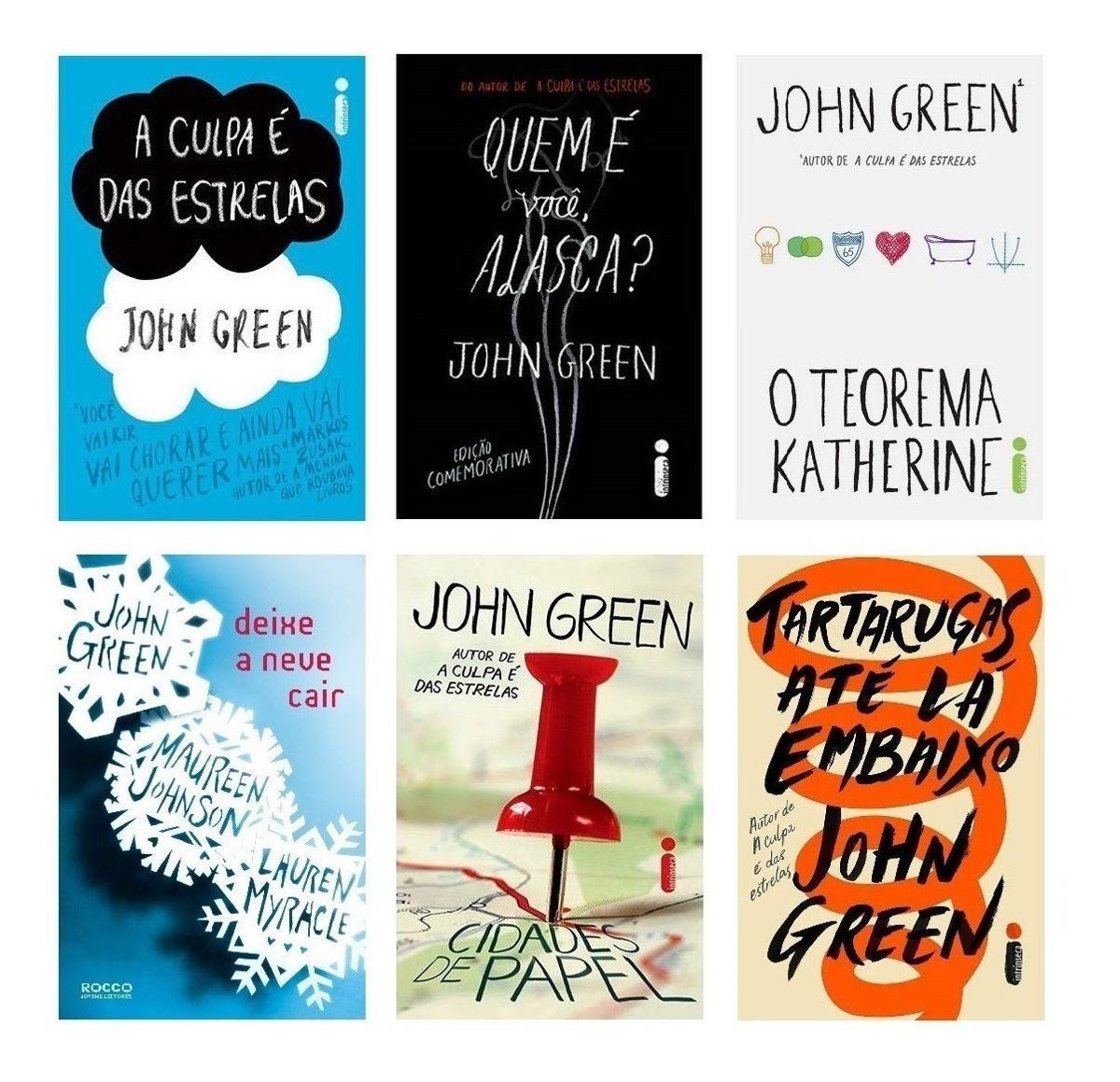 Top 3 livros de John Green