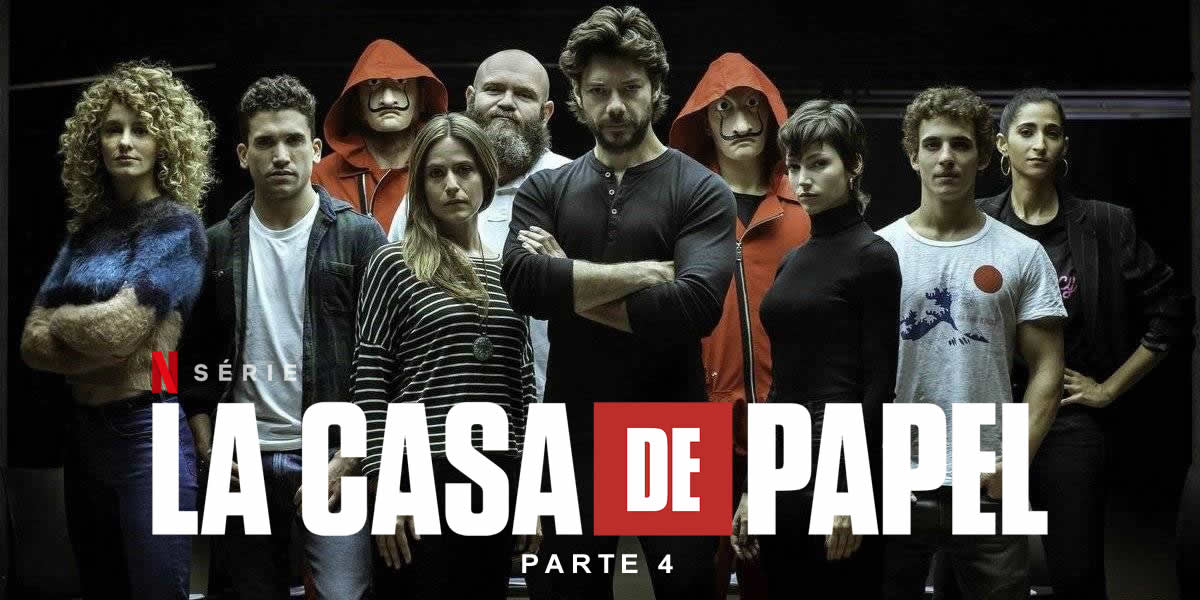 O desfecho de La Casa de Papel e as novas séries do mês na Netflix