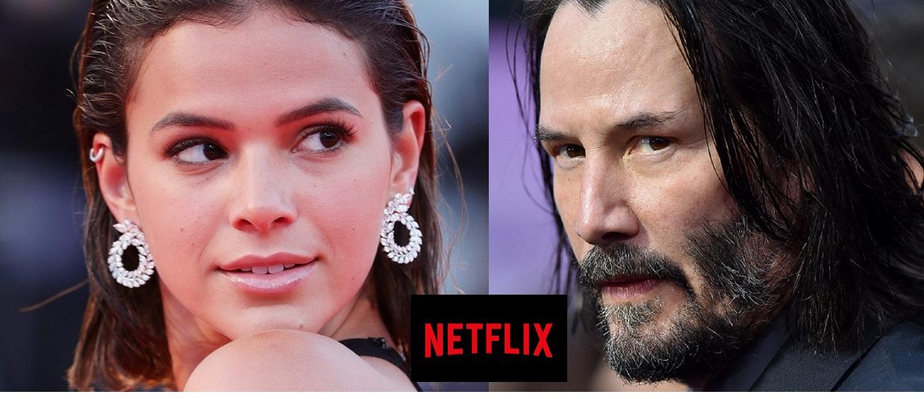 Bruna Marquezine e Keanu Reeves estarão em nova série da Netflix