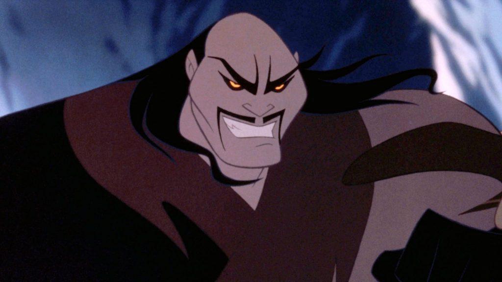 Shan Yu é o líder dos hunos e o antagonista do filme.