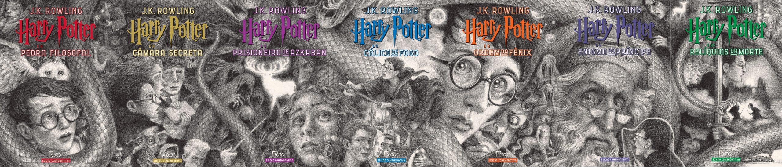 Harry Potter ganha nova edição por seu aniversário de 20 anos no Brasil