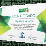 Certificado Negócio Marmita Fit