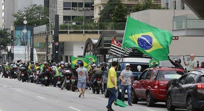 manifestações contra a quarentena