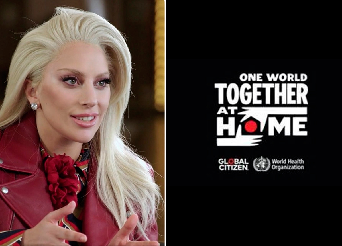 'One World: Together at Home' – o projeto em parceria com Lady Gaga