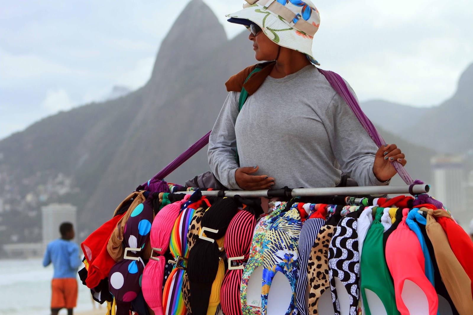 Trabalhadores das praias cariocas
