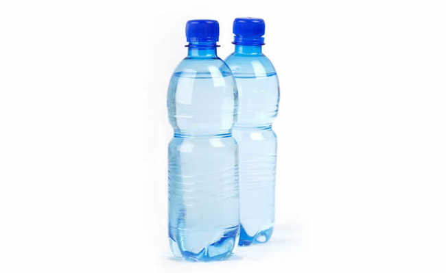 garrafa com água para treinar em casa