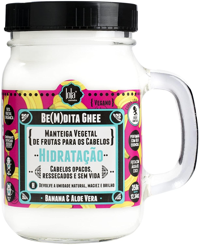 Hidratante para cabelos Be(M) Dita Ghee - Hidratação Banana, Lola Cosmetics, 350g