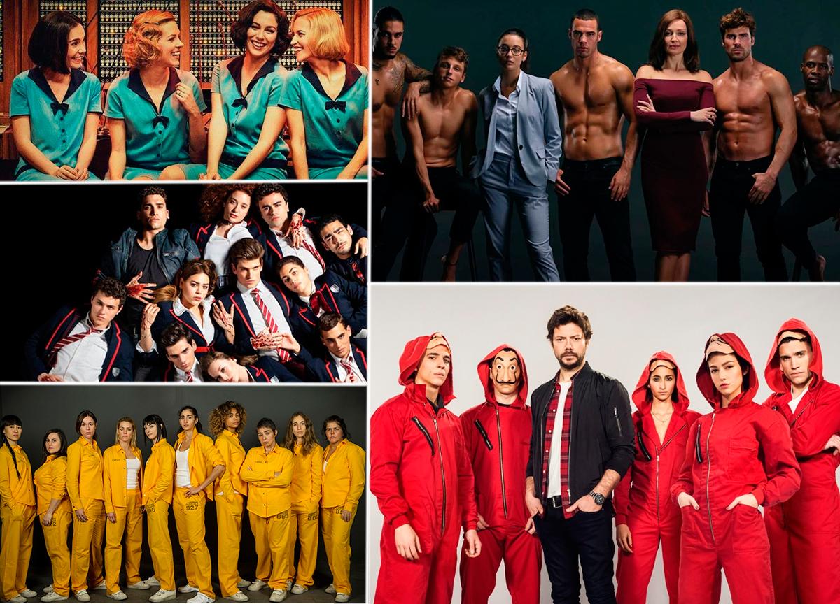As 5 melhores séries espanholas disponíveis na Netflix