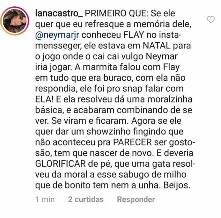 Flayslane e Neymar