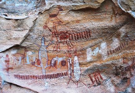 pinturas rupestres no brasil